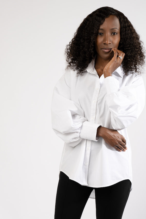 The Essential Bell Sleeve Shirt - BLANK Wardrobe