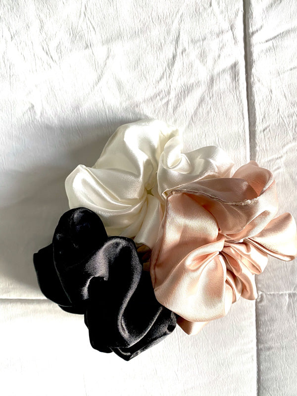 Satin Scrunchies (set of 3)