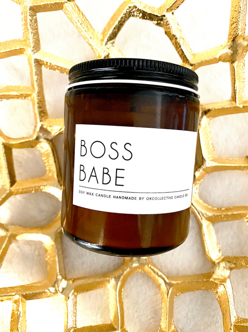 Boss Babe Candle 8oz