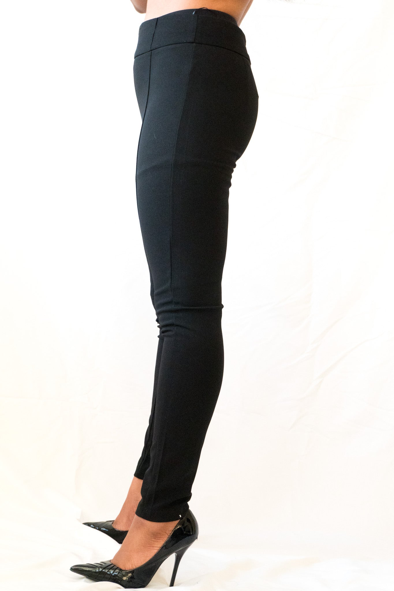 Side view of Everyday High Waist Slim Pant