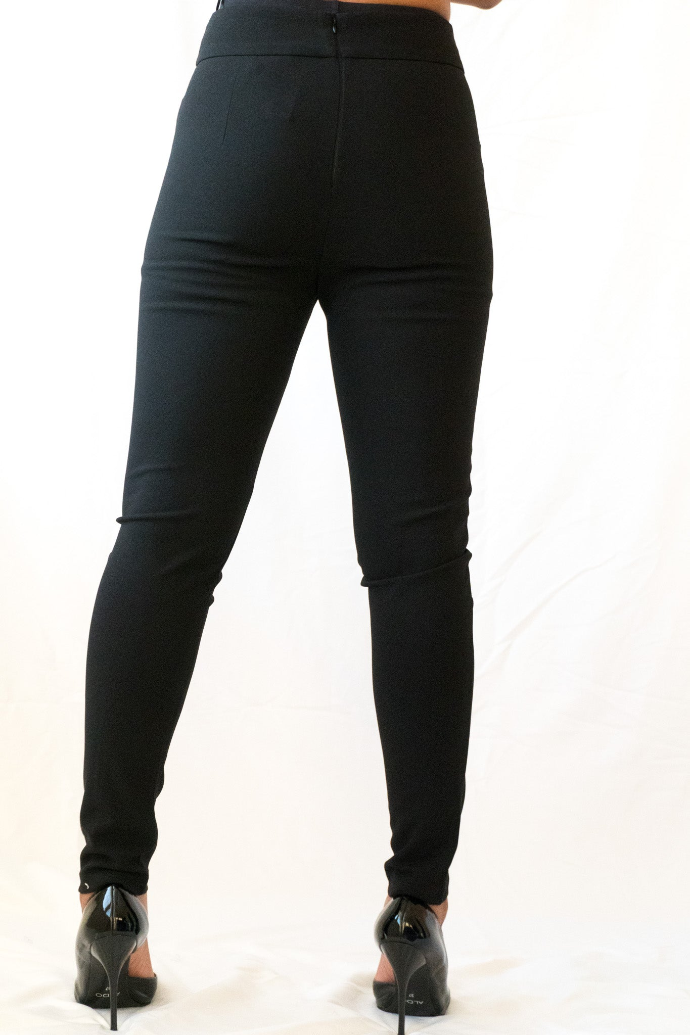 Front view of Everyday High Waist Slim Pant