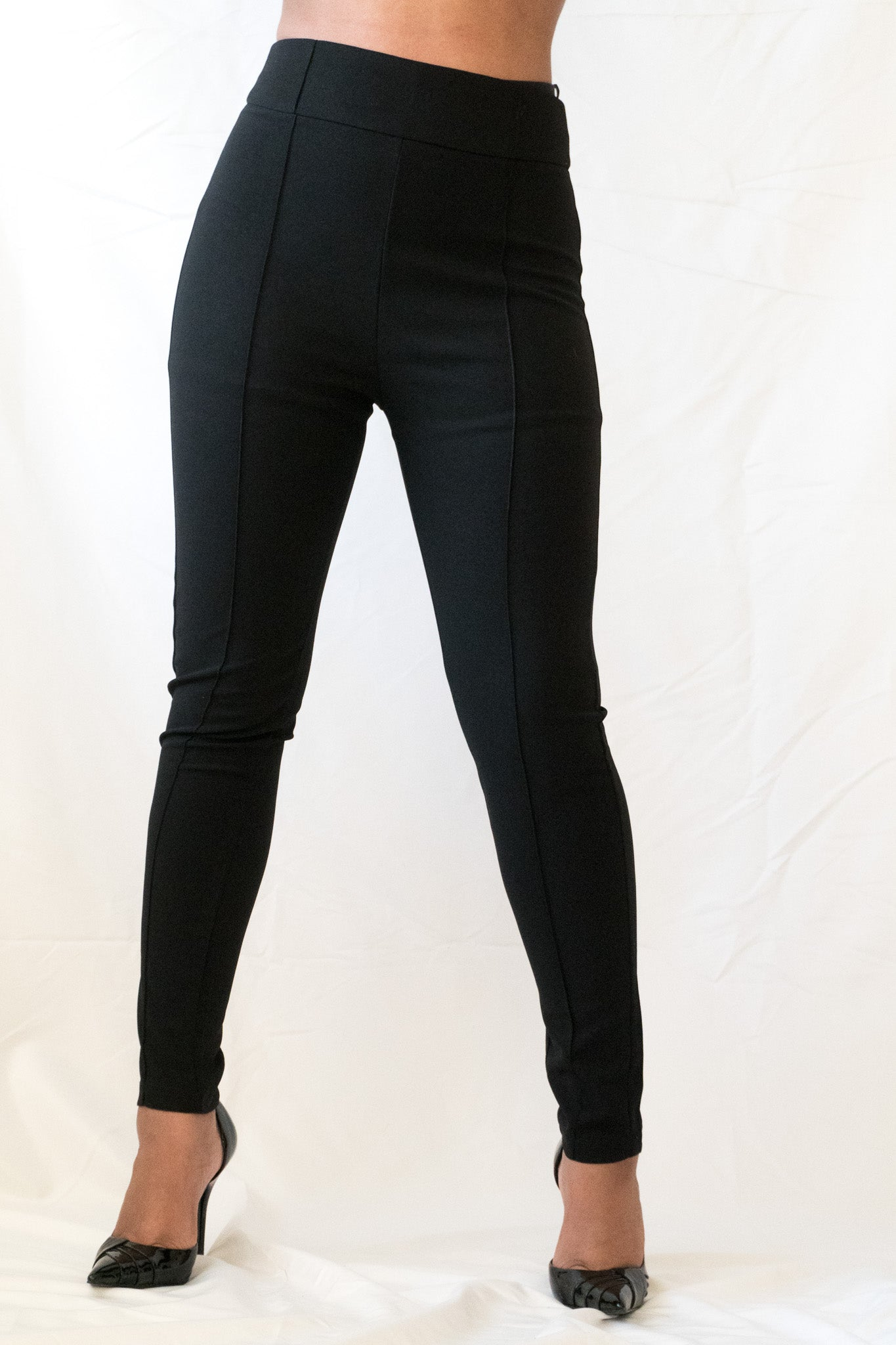 Everyday High Waist Slim Pant - BLANK Wardrobe