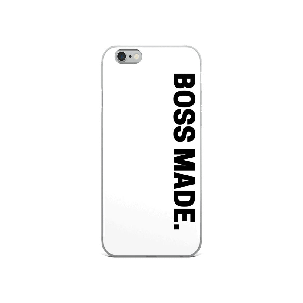 BOSS MADE iPhone Case