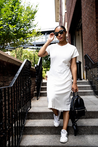 Utility Fit and Flare Dress