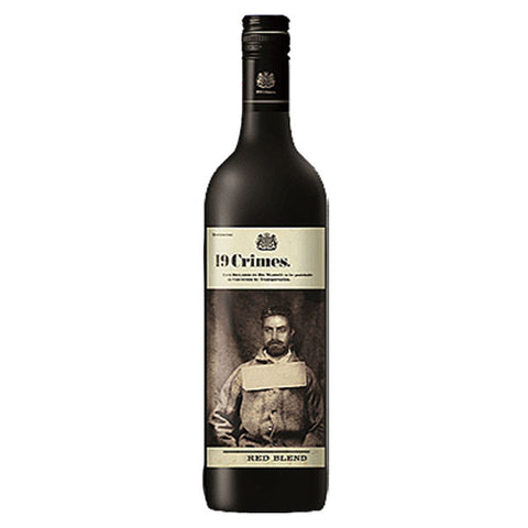 19 Crimes Red Blend, Red wine, 19 Crimes, winefix