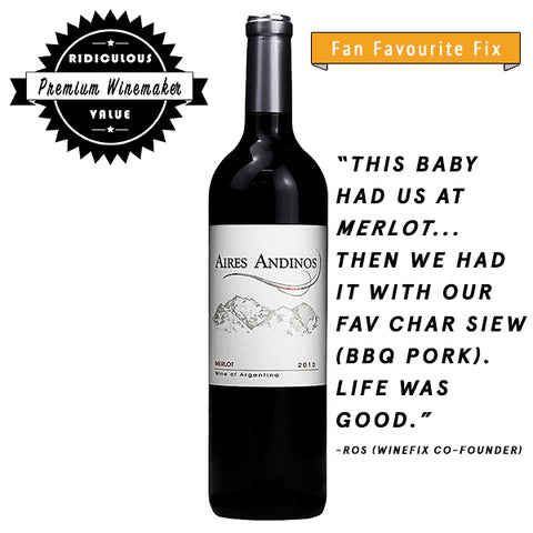 Aires Andinos Merlot, Red wine, Aires Andinos, winefix