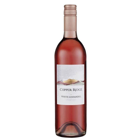 Copper Ridge White Zinfandel, Rosé, Copper Ridge, winefix