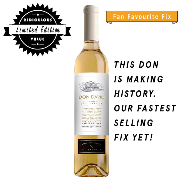Don David Torrontes Late Harvest, White wine, Don David, winefix
