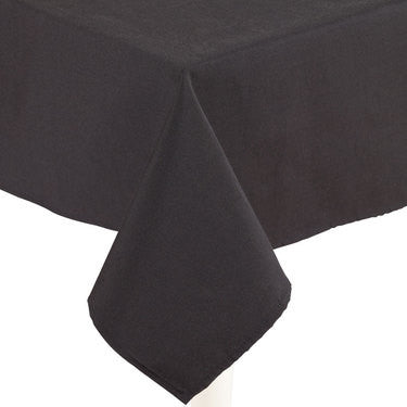 Black Linen Table Cloth