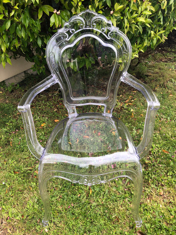 Clear Ghost Throne