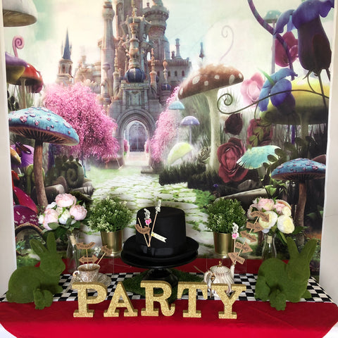 Premium Alice in Wonderland Party Package