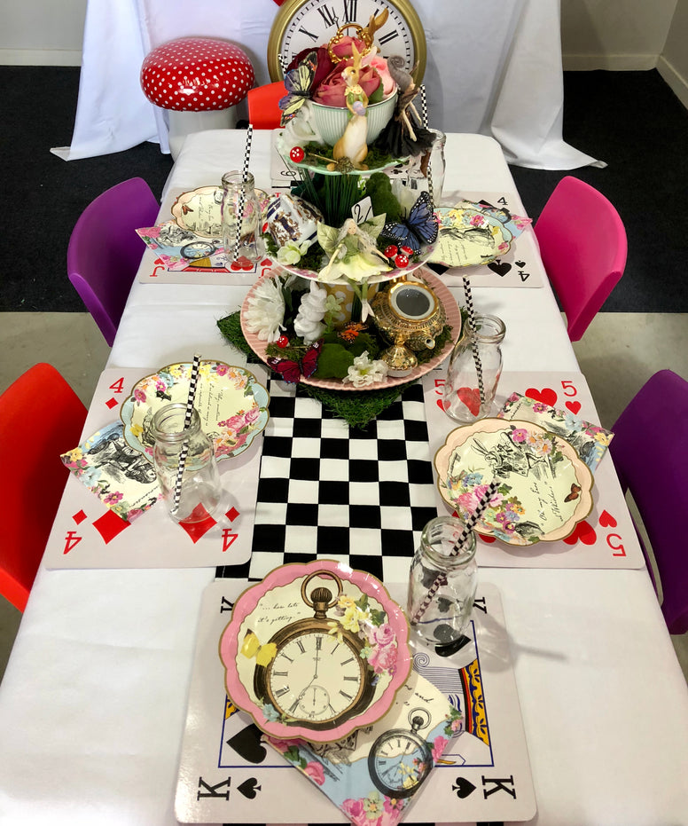Standard Alice in Wonderland Party Package