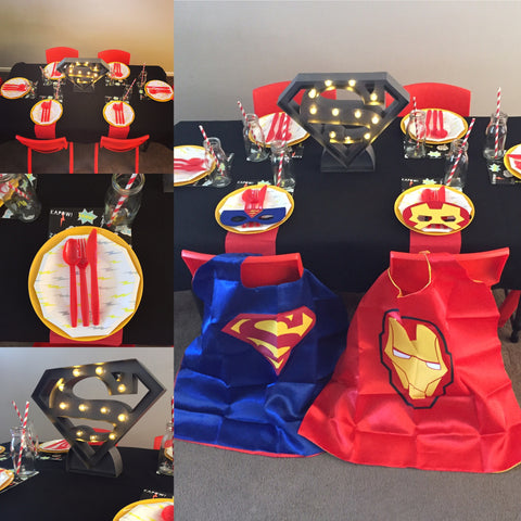 Standard Superhero Party Package