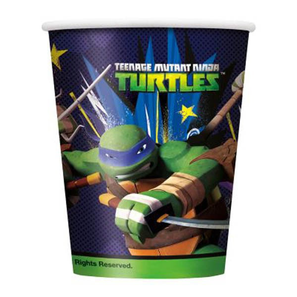Teenage Mutant Ninja Turtle Paper Cups
