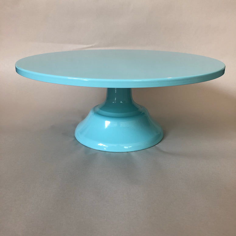 Blue Cake Stand - Short