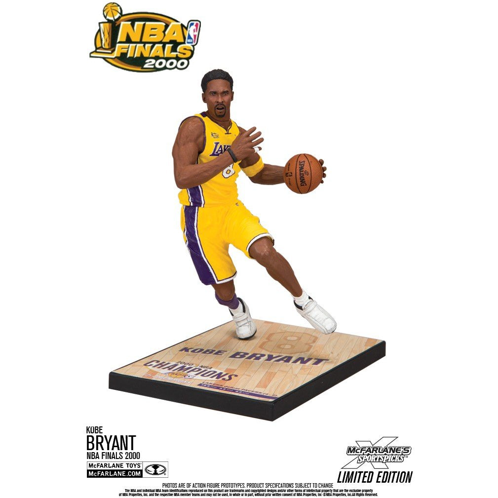 5b66dafd7fb Limited Edition NBA Finals 2000 Kobe Bryant figure - otkworld