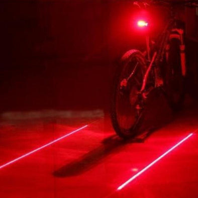 BICYCLE LASER SAFETY LIGHT - CrazeWare