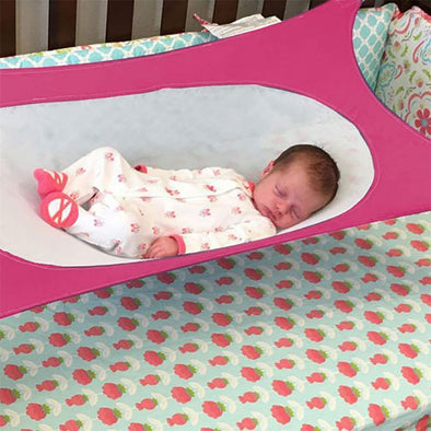 Family - Portable Folding Baby Crib Hammock
