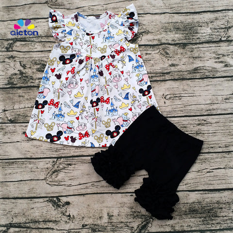 Disneyland Summer Girl's Short Outfit