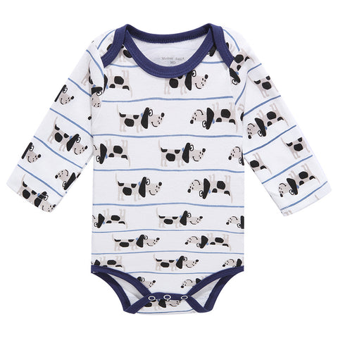 Baby Boy's Long Sleeve Romper