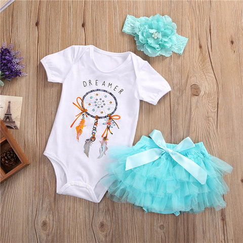 Dream Catcher Tutu Skirt Set