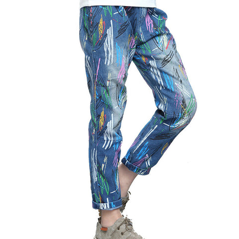 Girls Graffiti Jeans