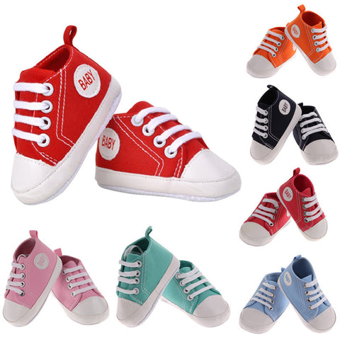 "Baby ""Chuck"" Crib Shoes"