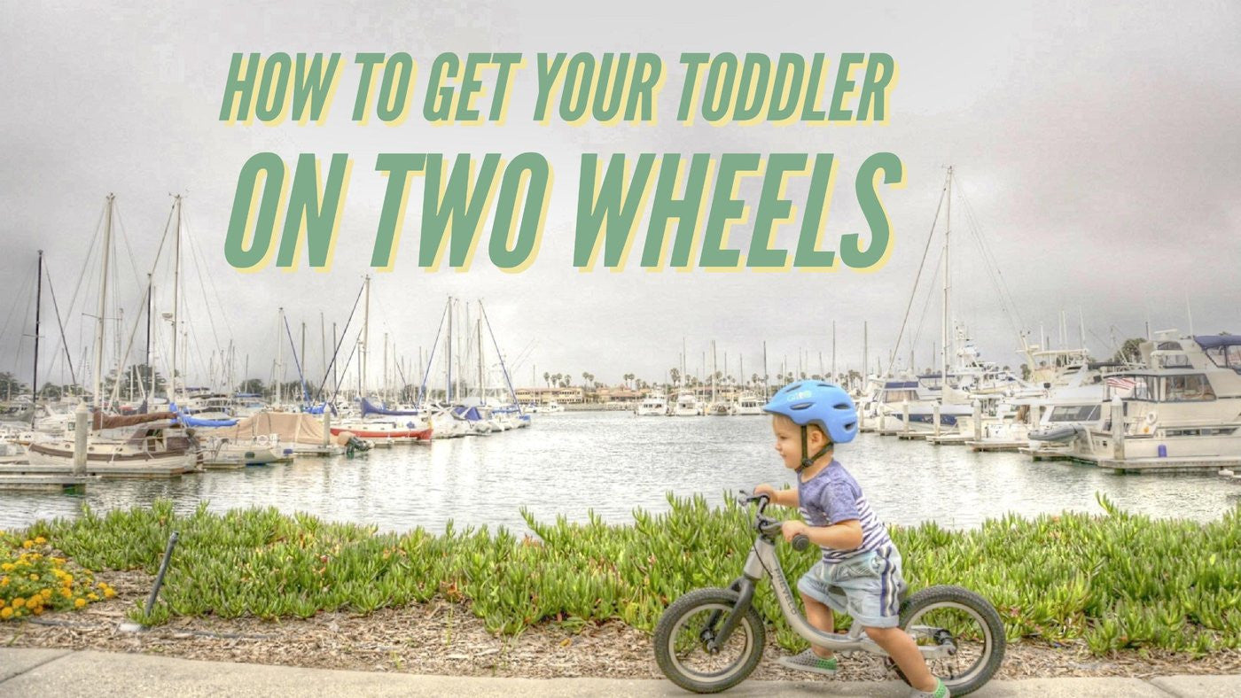 How to Get the Best Bike for your Toddler and Get Them Riding Young