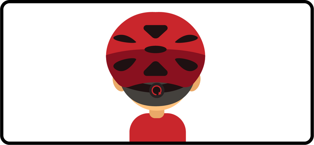 tighten bike helmet retention dial