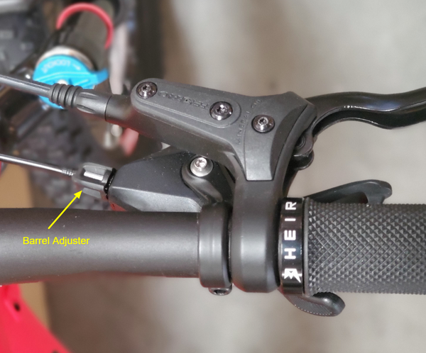 shimano slx shifter barrel adjuster