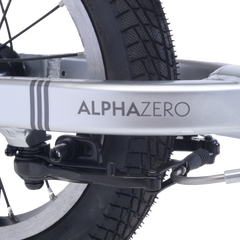 alpha zero reverse mounted brake