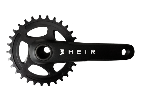 heir direct mount kid size bicycle crank