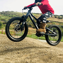 prevelo zulu 16 kids mountain bike jump