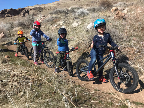 kids on bikes in utah