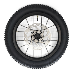 zulu one rear wheel with disc rotor