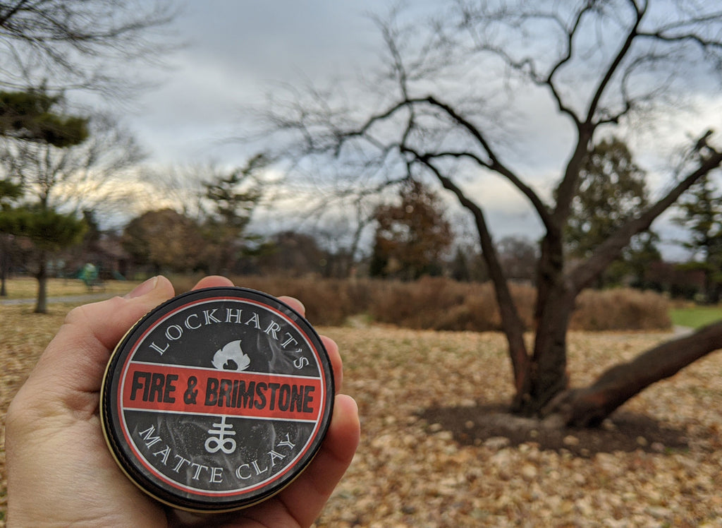 Lockhart's Fire and Brimstone Matte Clay