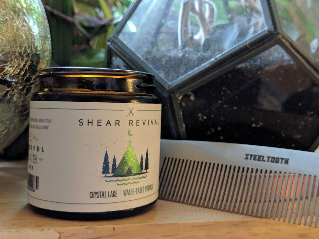 shear revival and a steeltooth comb