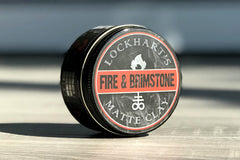 Lockhart's fire and brimstone matte clay.
