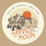 Faith and Integrity Harvest moon logo.