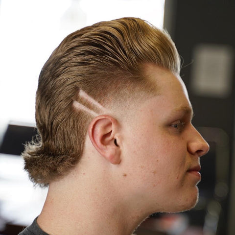 Modern mullet haircut for men by zackthebarber