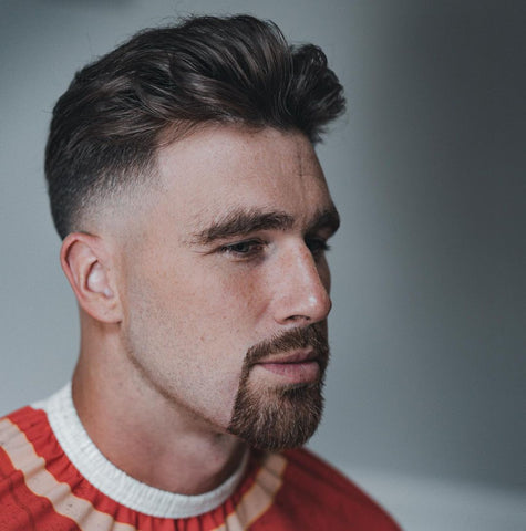 Travis Kelce haircut.