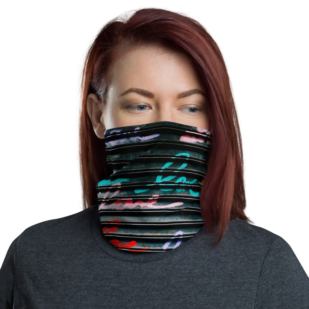 Metallic Love Commuter Mask