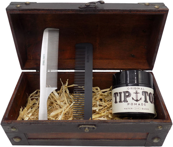 Steeltooth gift set in a pirate chest box