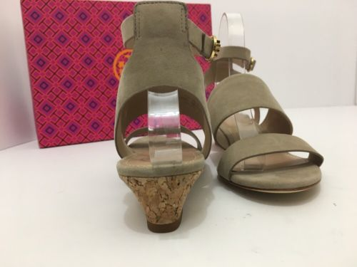c588cac26e03 ... Tory Burch North 35mm Wedge Sandal Fumo Lancaster Suede Size 7M ...
