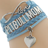 Pitbull Mom Bracelet- Best Dog Pet Lover Friendship Gift for Women