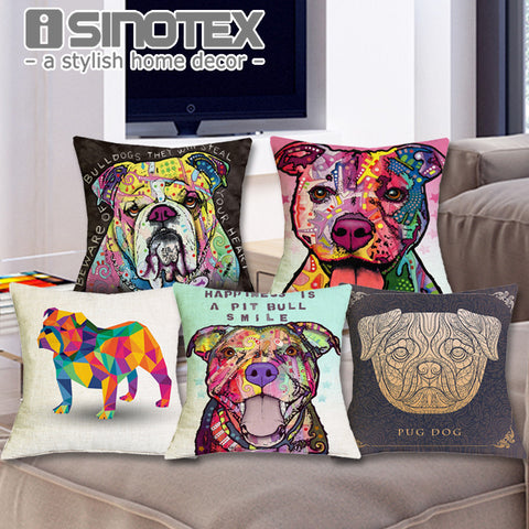 Mastiff Pillow Case Pillowcase Home Decor Decorative Pillows