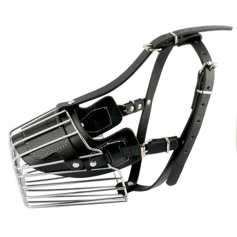 Strong Metal Wire Dog Muzzle
