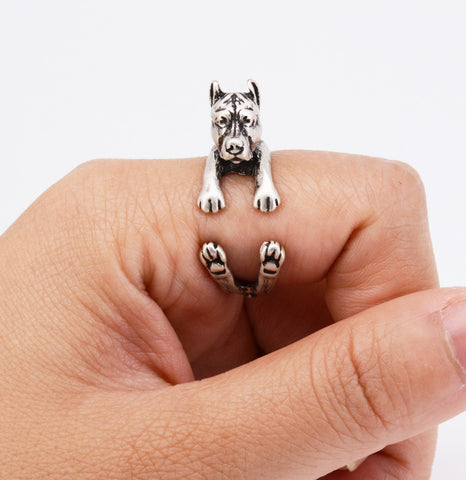PitBull Puppy Ring Jewelry