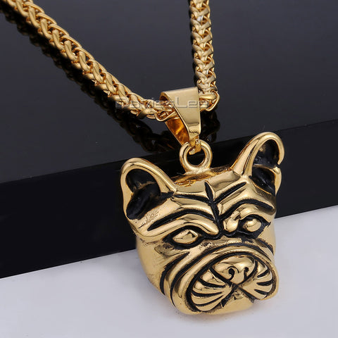Stainless Steel Gold Color  Necklace