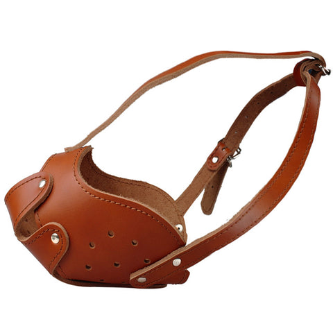 Genuine Leather Training Muzzle
